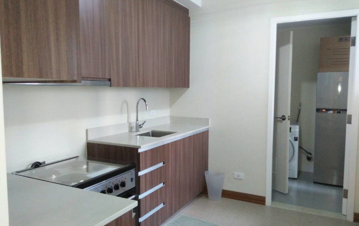 2 Bedrooms Condo, Shang Salcedo Place Kitchen
