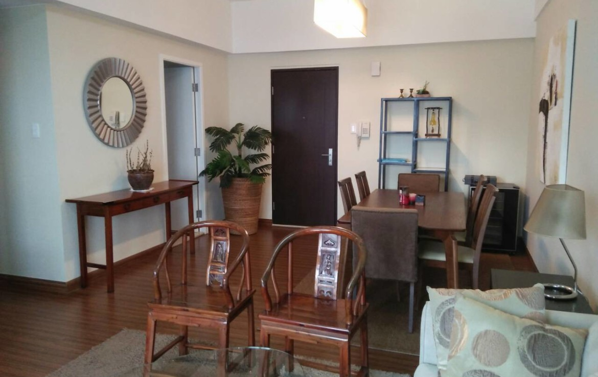 2 Bedrooms Condo, Shang Salcedo Place Dining Area View 2