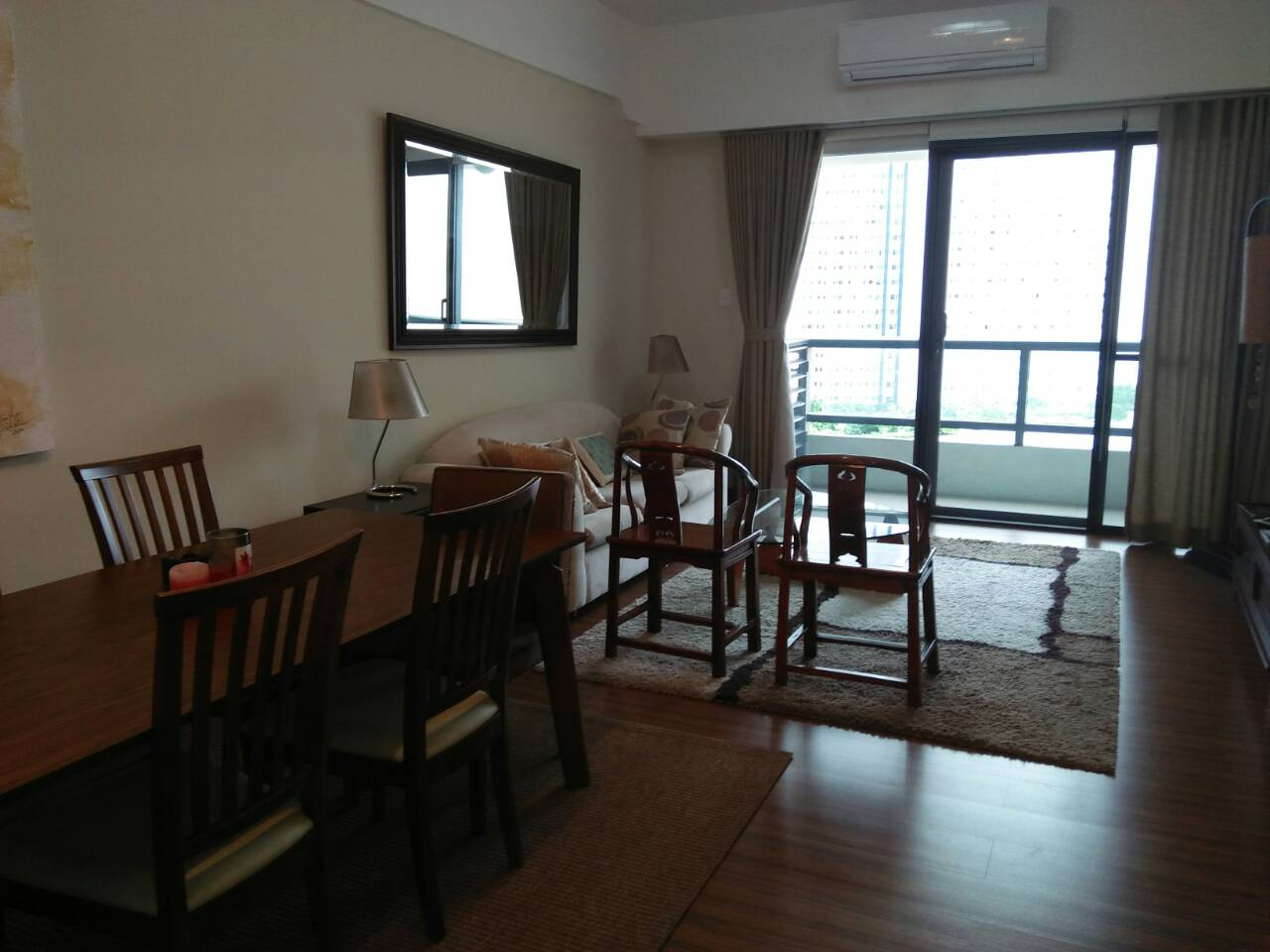 2 Bedrooms Condo, Shang Salcedo Place Dining Area View 1