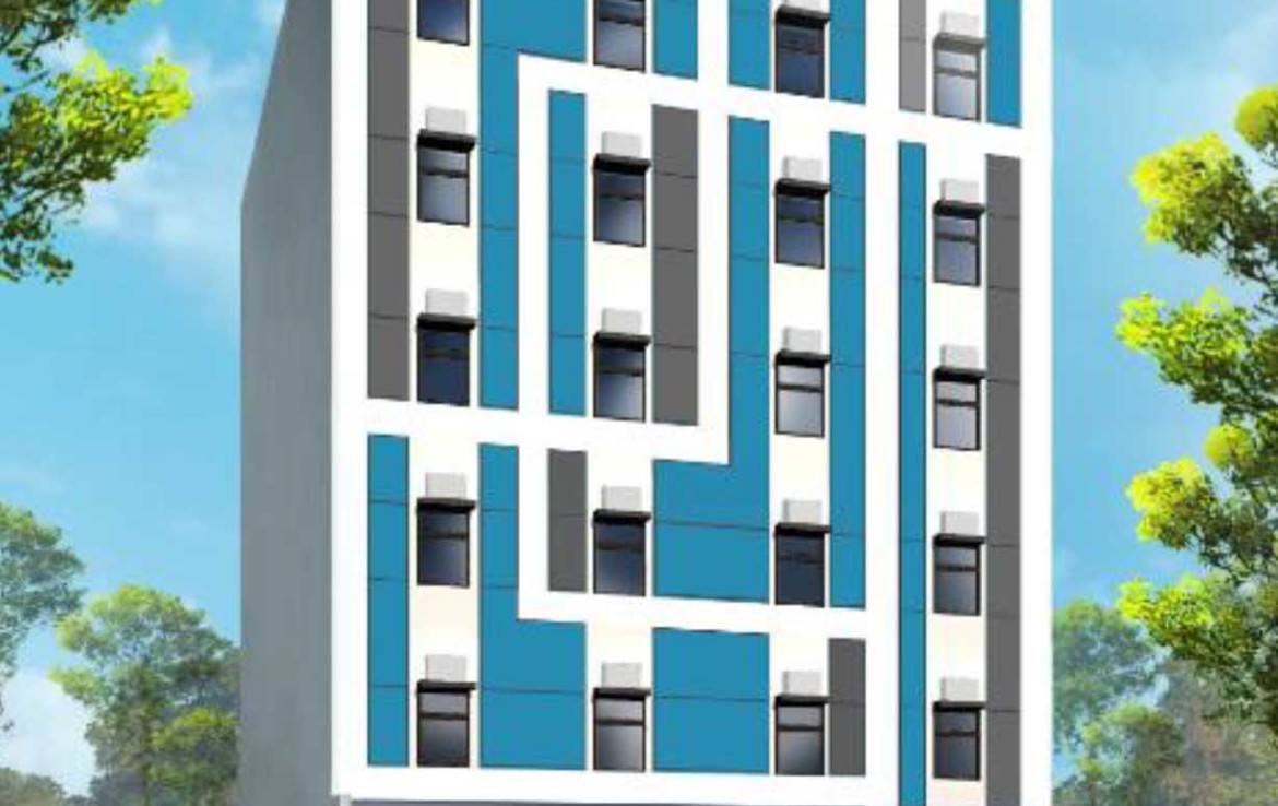 Dormitory Building For Sale J Victor Makati facade