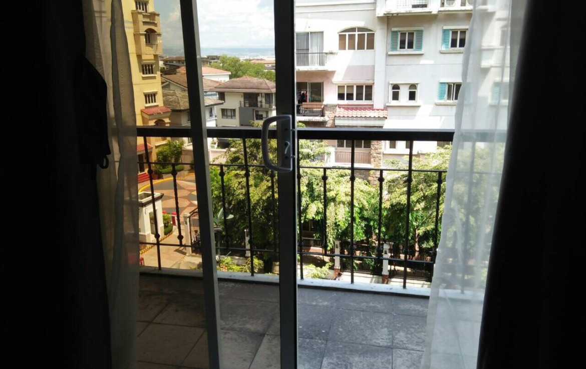 2BR Condo For Sale, Tuscany Estate, Taguig City Balcony View 1