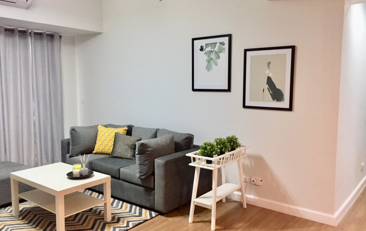 3BR Condo For Sale, Two Maridien, Living Area