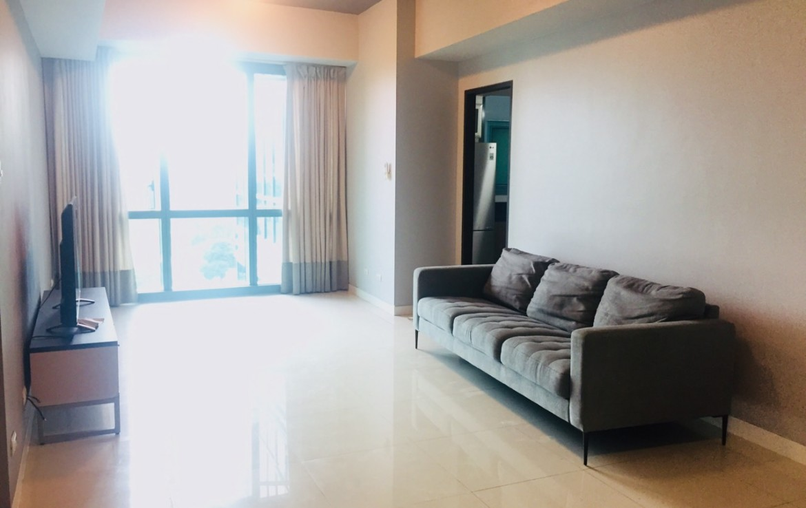 2BR Condo For Rent, 8 Forbestown Road Living Area View