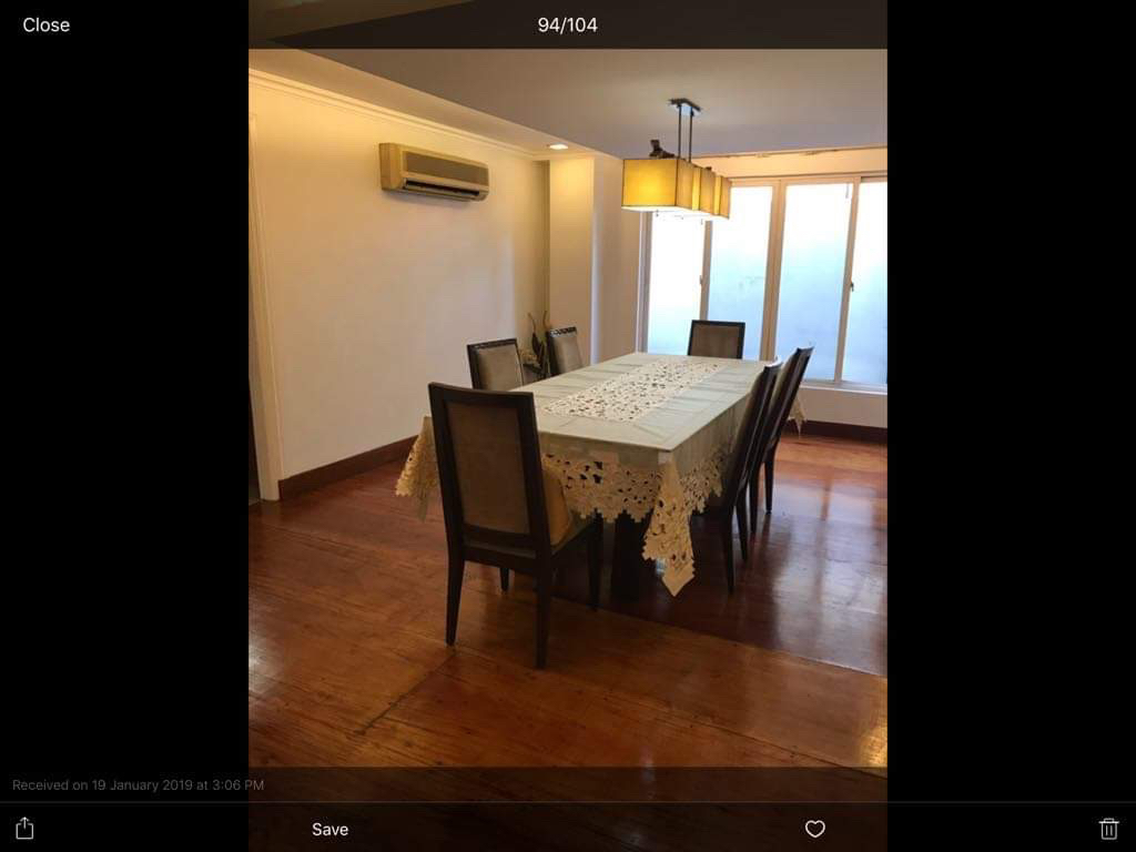 4 Bedroom House For Rent, Sampaguita Street Valle 2 Dining Area
