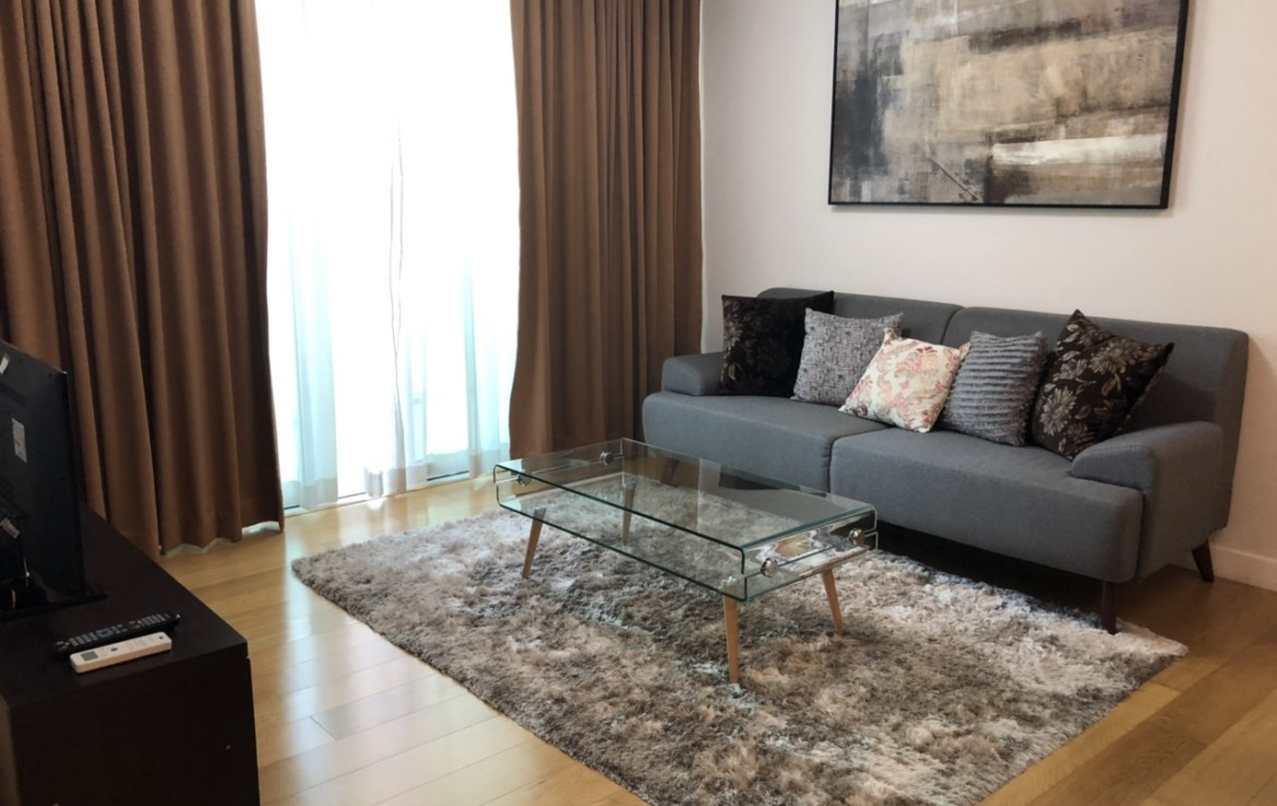 1BR Condo For Rent, Park Terraces Living Area
