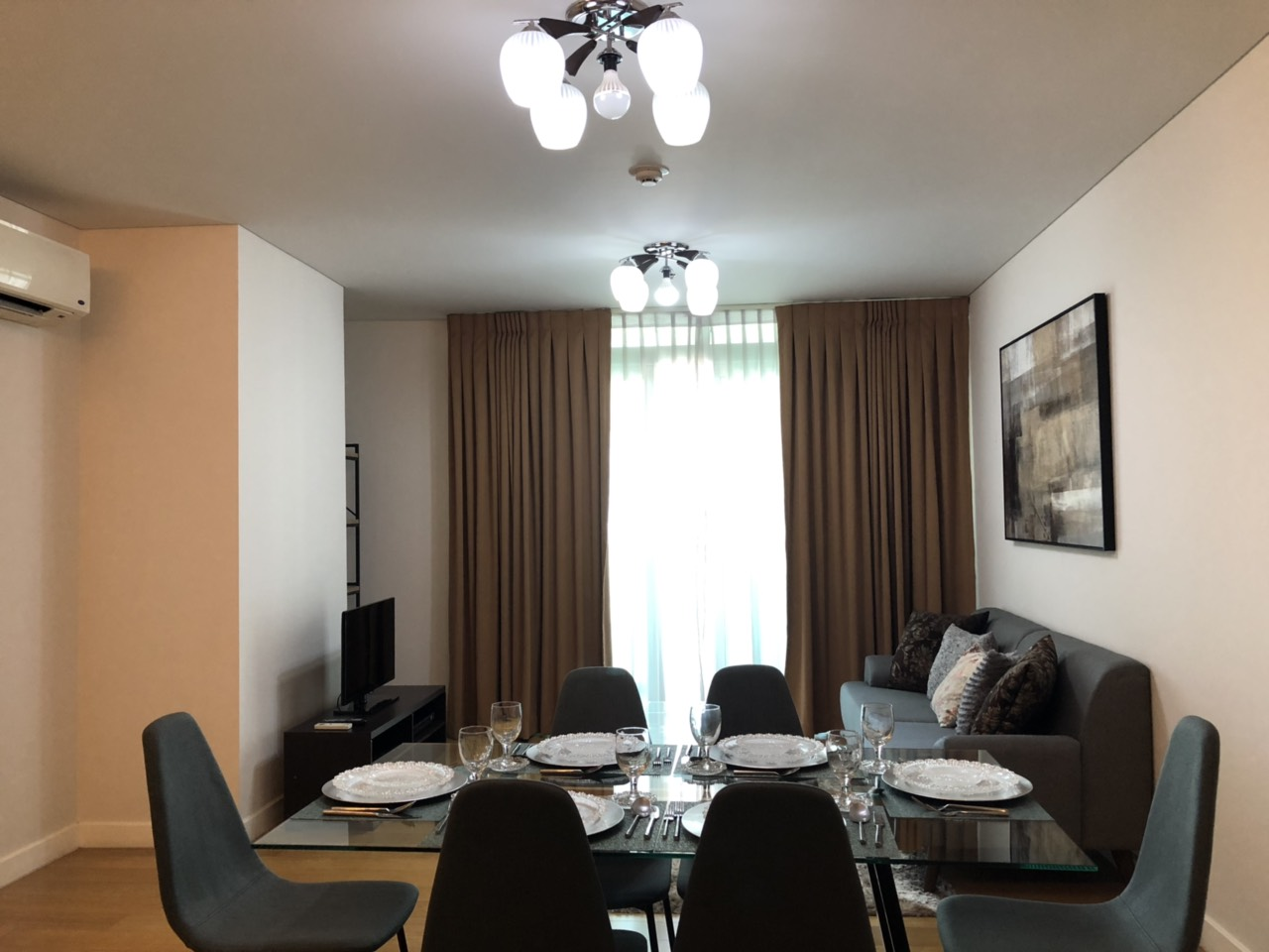 1BR Condo For Rent, Park Terraces Dining Area
