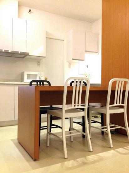 1BR Condo For Lease, Perla Mansion Kitchen