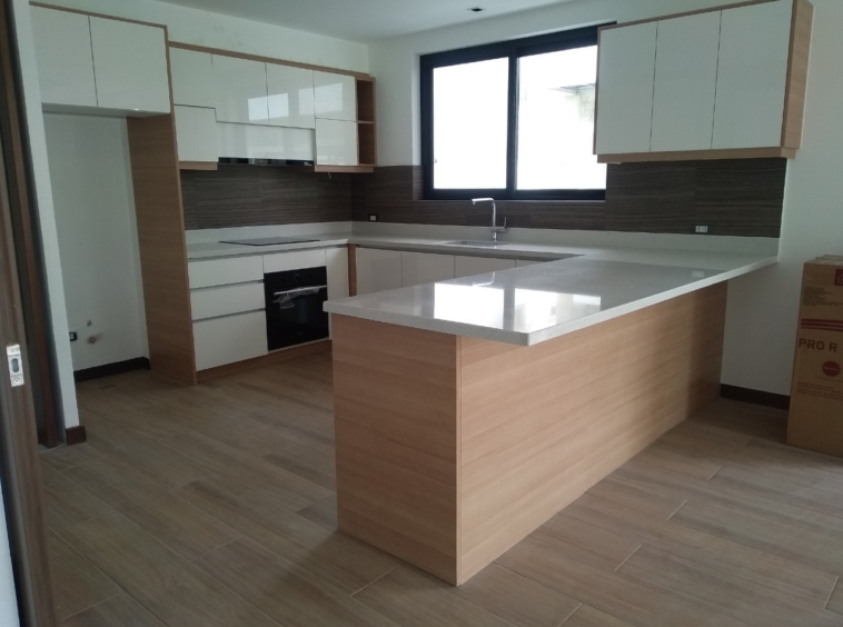 5BR House For Lease, McKinley Hill Village Kitchen