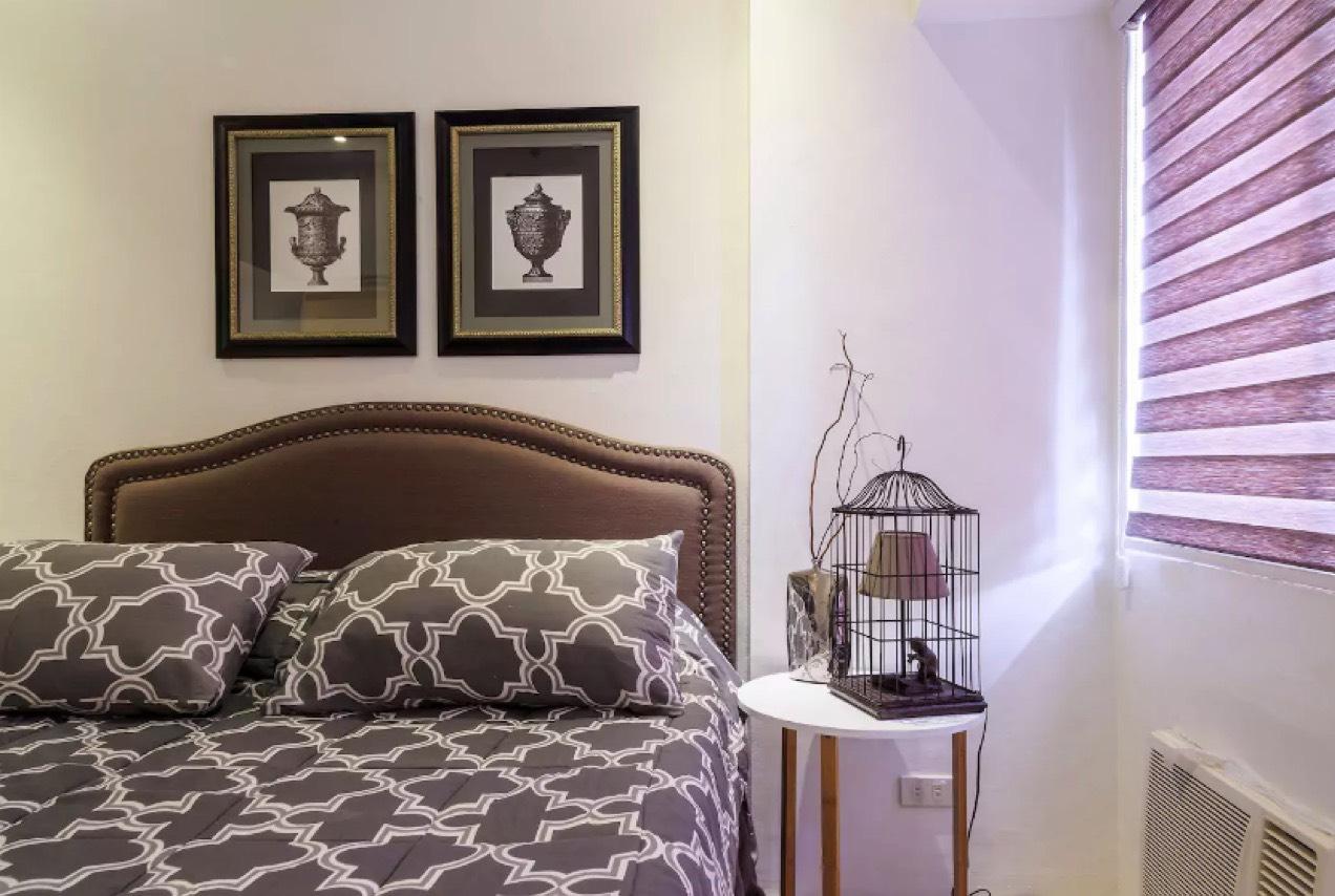 1BR Condo For Lease, Perla Mansion Bedroom