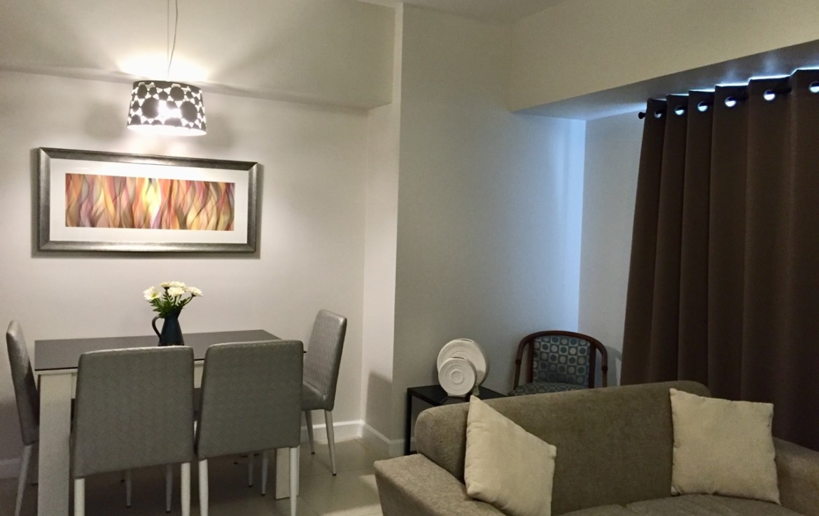 2BR Condo For Rent, Red Oak at Two Serendra 7