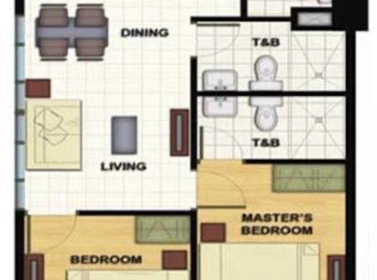 2 Bedroom Condo For Sale, Signa Designer Residences, Makati City