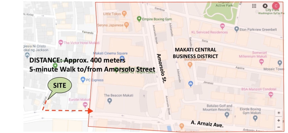 Pre-Selling Dormitory Building at J.Victor Makati City 2