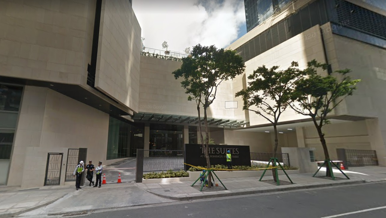 2BR For Rent Lease The Suites Ayala BGC-Facade