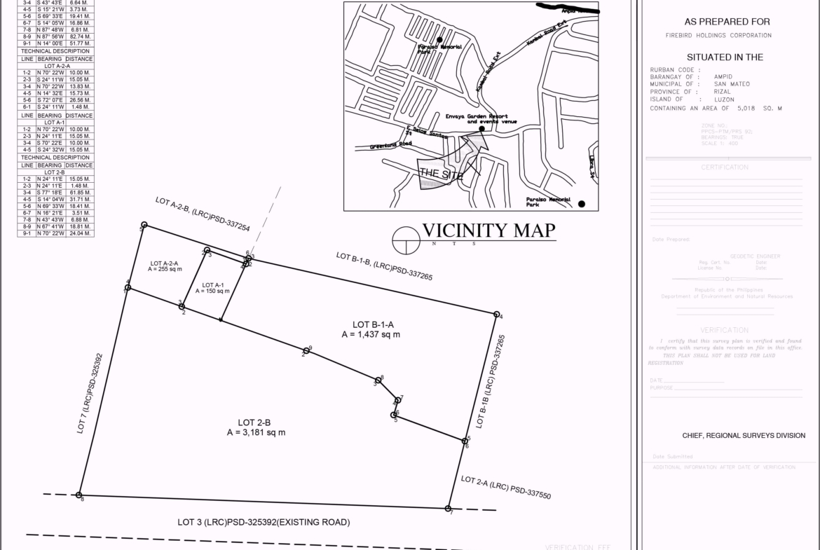 Vacant Lot For Sale Ampid San Mateo Rizal, Vacant Lot For Sale San Mateo, Raw land for sale san mateo rizal, Residential Lot For Sale San Mateo-lotplan