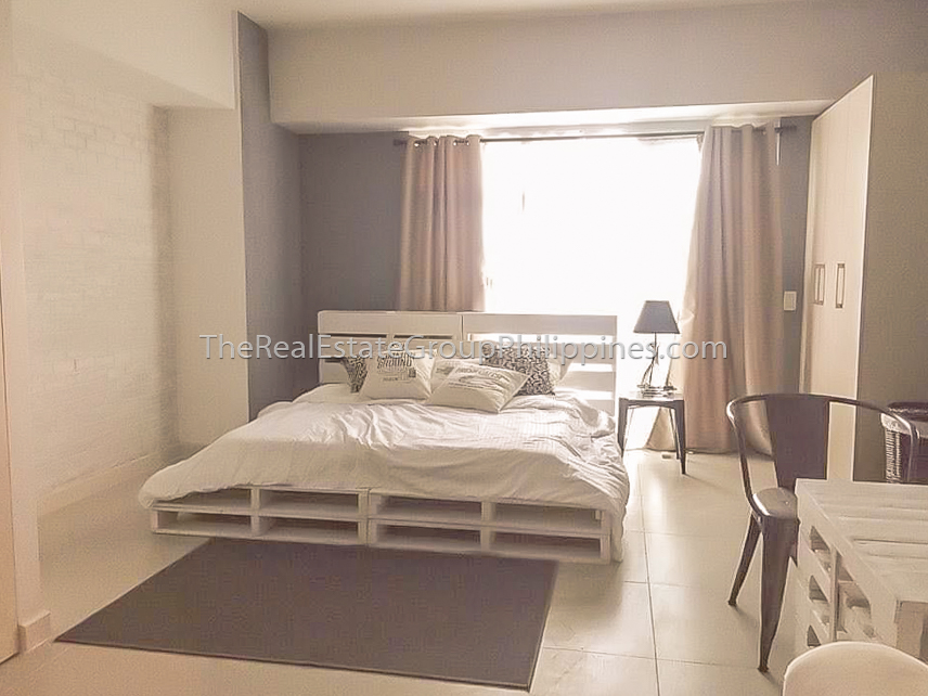 Studio Condo For Rent Lease Red Oak Two Serendra 39K (2 of 6)