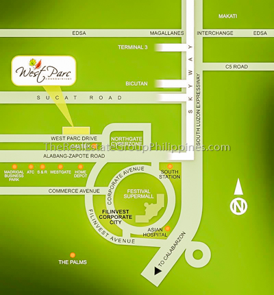 2BR Condo For Sale Alabang West Park, Muntinlupa-2