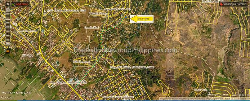 1300 Sqm Vacant Lot For Sale an Carlos heights subd bgy tayuman binangonan Rizal-7