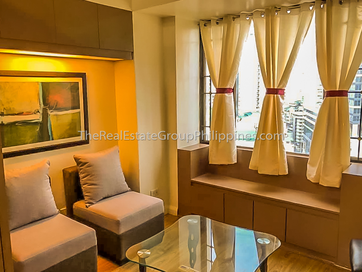 1BR Condo For Rent, Greenbelt Parkplace, Legazpi Village, Makati-1